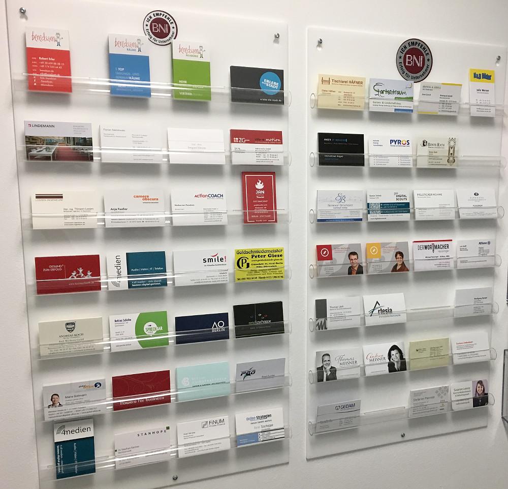 Cooles Board Für Visitenkarten Beredsam Gmbh